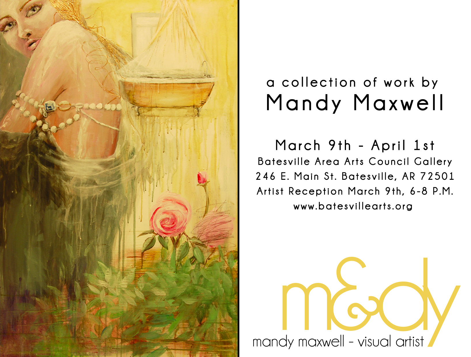 Mandy Maxwell Art Show