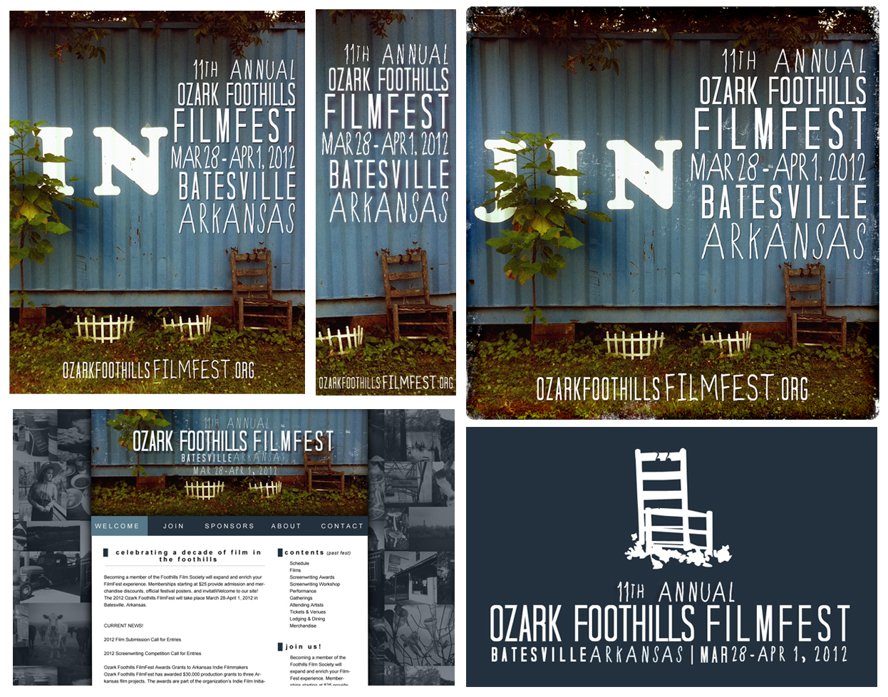 Ozark Foothills FilmFest Branding