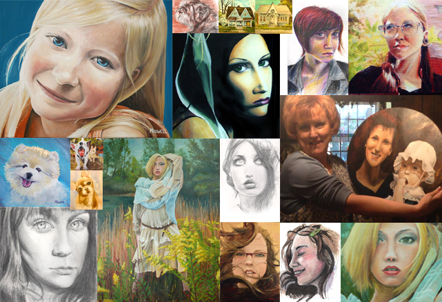 Commissions by Mandy Maxwell Mooneyham