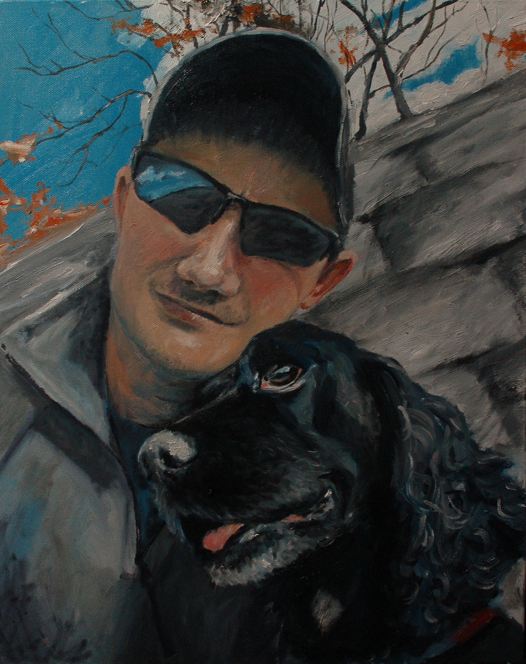 black-pup